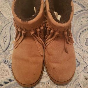 UGG Boots US 7 with Fringe